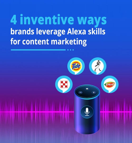4 Inventive ways brands leverage Alexa skills for content marketing
