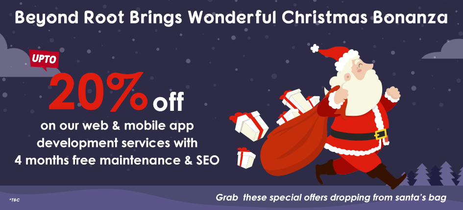 christmas offers on web and mobile app development services